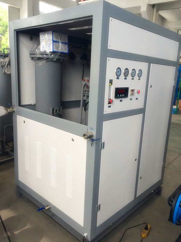 440V Small N2 Generation Plant , Carbon Steel High Purity Nitrogen Generator